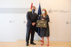 Ábalos no esmenta Sánchez en el seu comiat del ministeri