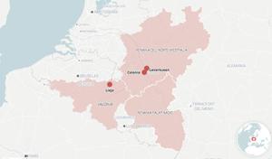 ¿Dónde están las zonas de Alemania y Bélgica afectadas por las inundaciones? | MAPA