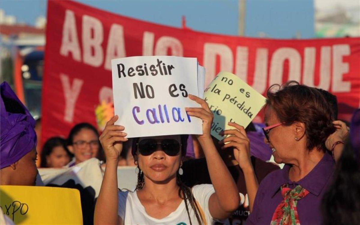 Protestas sociales en contra del presidente de Colombia, Iván Duque.