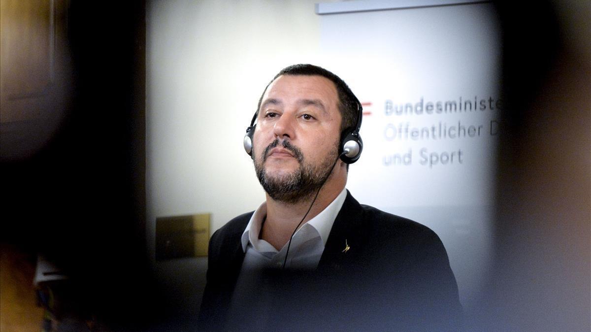 El ministro del Interior italiano, el ultraderechista Matteo Salvini.