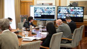 Reunión por videoconferencia del Consejo Interterritorial del Sistema Nacional de Salud.