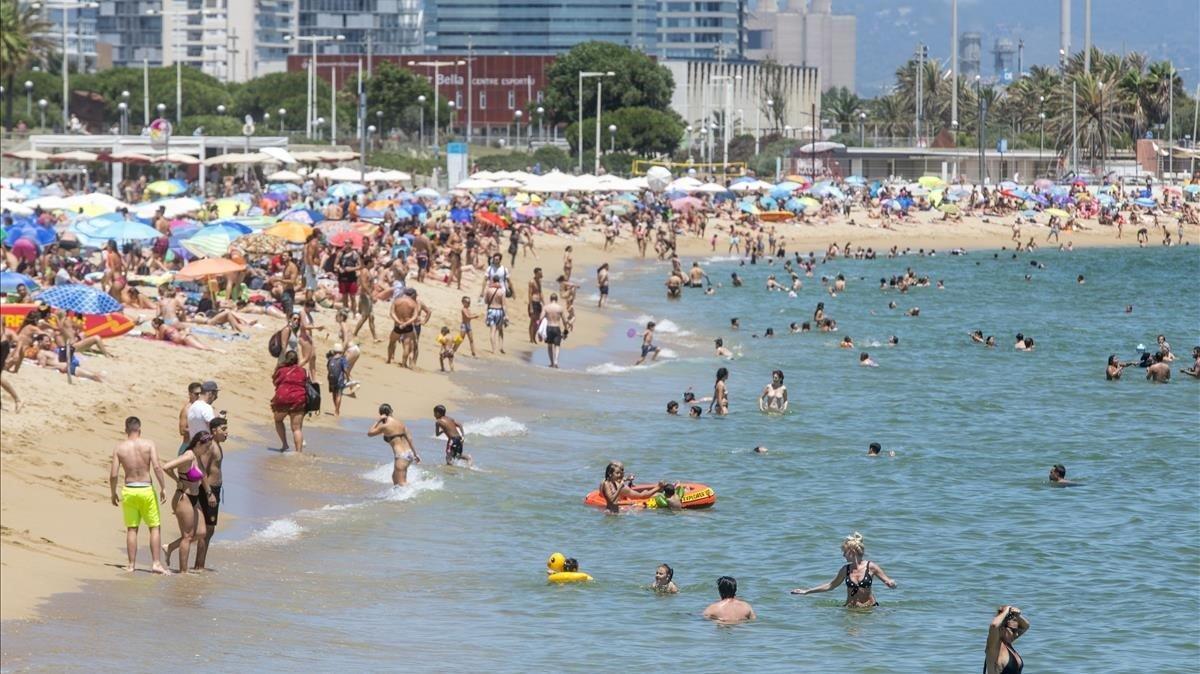 BCN estudiarà com reduir la pèrdua de sorra de les platges