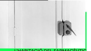 Cartel de la quinta edición de la La habitación del farmacéutico de Mollet del Vallès.