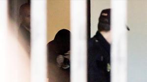 El Chicle, a la salida del juzgado de Ribeira, el pasado mayo.