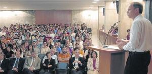 Jean Tirole, premio Nobel de Economía del 2014, pronunció la lección inaugural del curso 2006-2007 de la UPF el 16 de octubre del 2006.