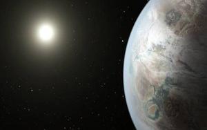 Un exoplantea captado por la NASA.