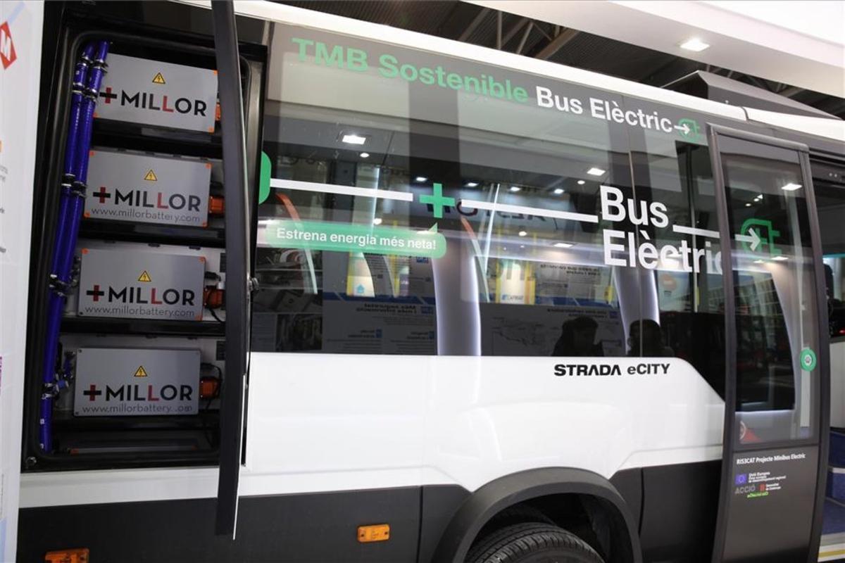 TMB desenvolupa un minibús 100% elèctric que donarà servei a Barcelona