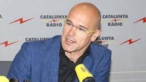 Raül Romeva, eurodiputat d'{ICV}, en una entrevistaa Catalunya Ràdio.