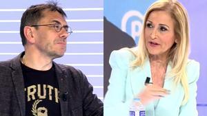 Monedero critica el «classisme» de la dreta i Cifuentes esclata: «¿Però tu saps el que fan els meus pares?»
