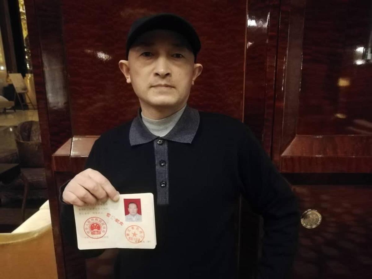 Ciudadano chino crítico con la gestión del coronavirus / Adrián Foncillas