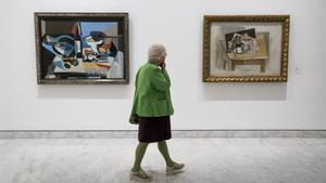 La exposición 'La cocina de Picasso', en el Museu Picasso, el pasado mayo.
