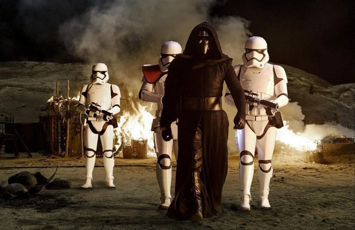 Fotograma de 'Star Wars: El despertar de la fuerza'