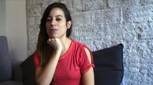 Beatriz Bonete, en Madrid, durante la entrevista con EL PERIÓDICO.