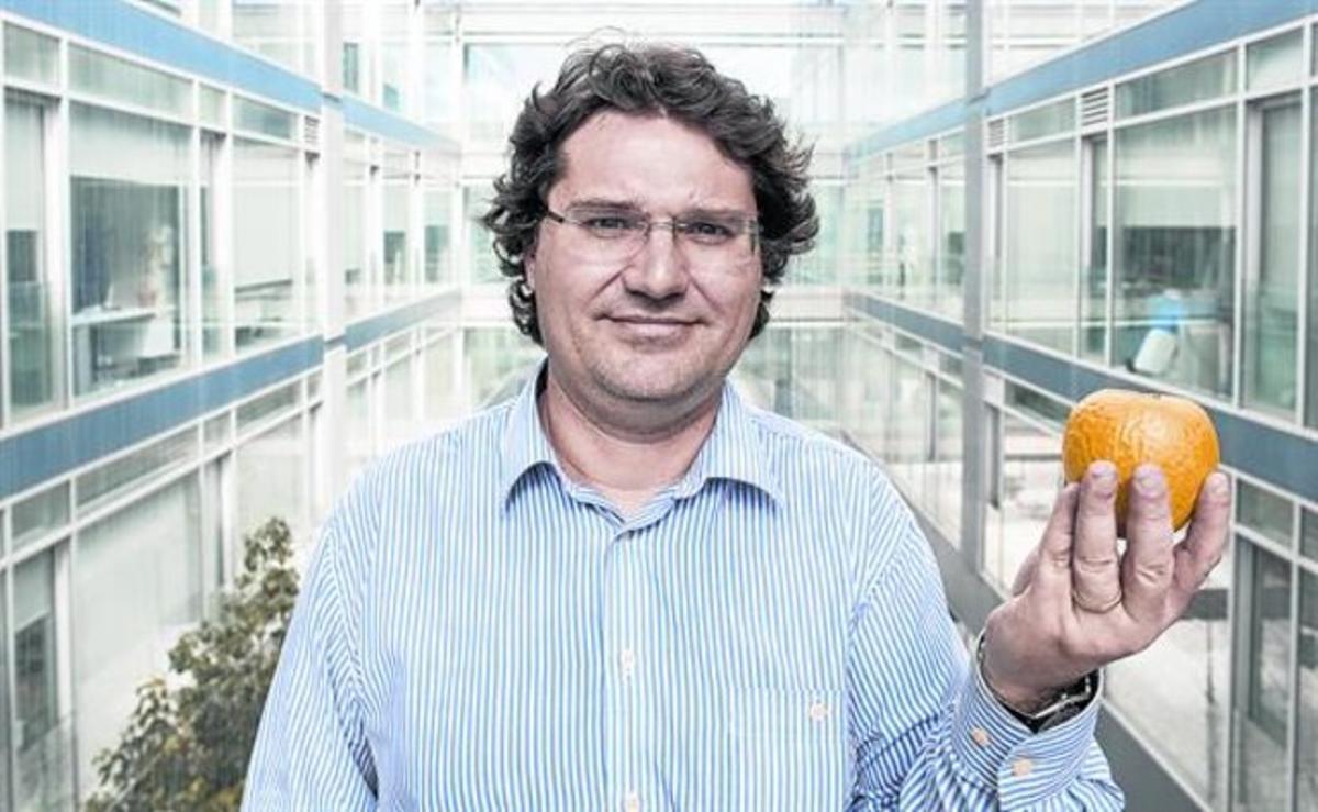 José Miguel Mulet, el jueves, en la Universidad Politécnica de Valencia.