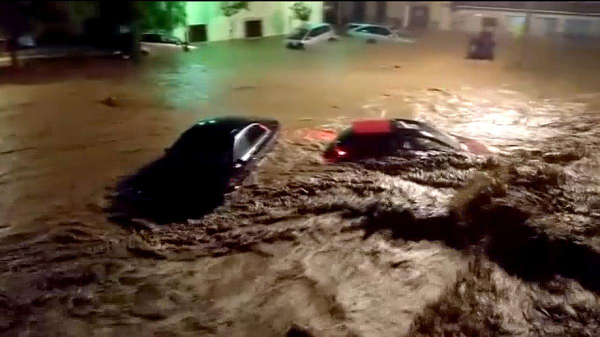 Un tercio de Sant Llorenç se construyó en zona inundable