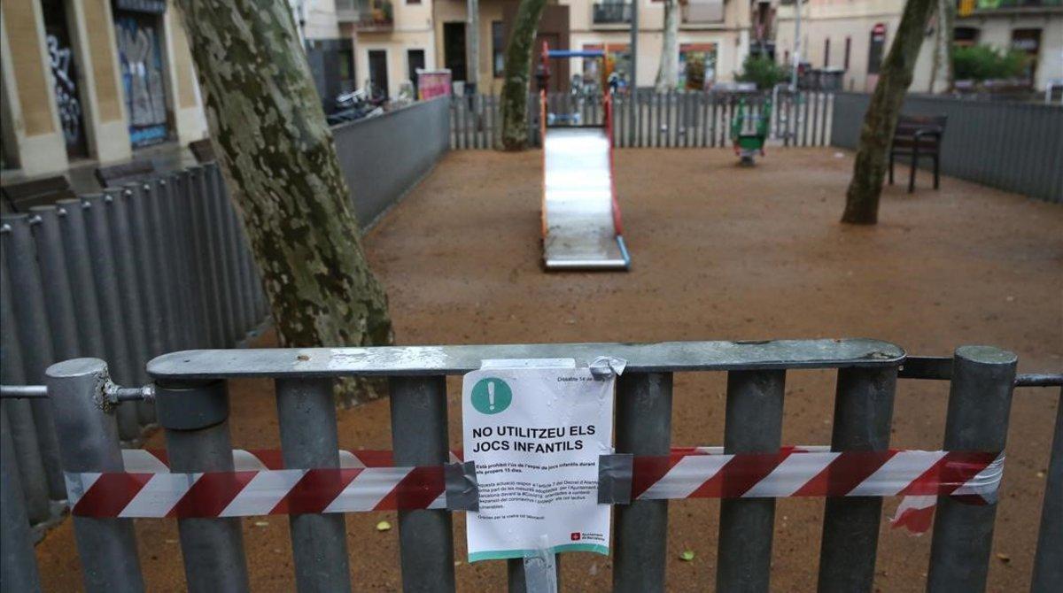 La Generalitat es planteja tancar parcs infantils si la incidència no baixa