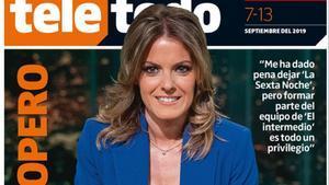 Portada de 'Teletodo' del 7 de septiembre, protagonizada por Andrea Ropero.