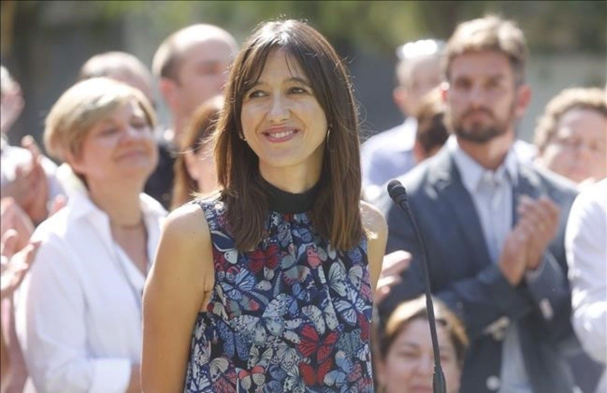 La alcaldesa de Santa Coloma de Gramenet, Núria Parlon.