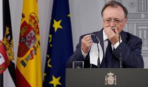 Juan Jesús Vivas, presidente de la comunidad de Ceuta, hoy en Moncloa.