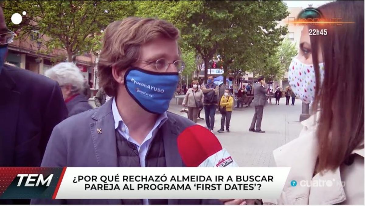 José Luis Martínez Almeida en 'Todo es mentira'