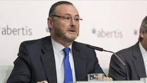 José Aljaro,consejero delegado de Abertis, en una imagen de archivo.