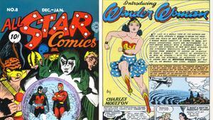 Primer cómic de 'Wonder Woman'