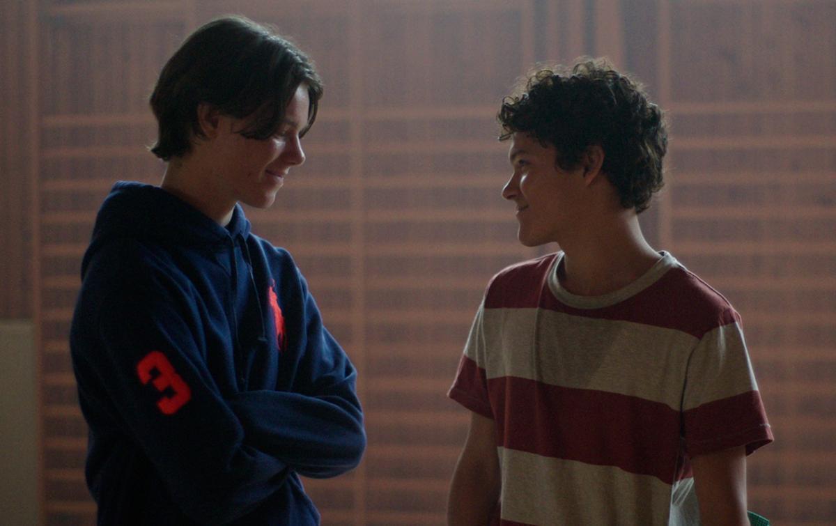 Edvin Ryving y Omar Rudberg en 'Jóvenes altezas'.