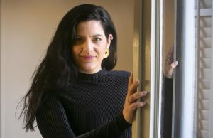 La abogada penalista experta en violencia machista, Carla Vall, en su despacho.