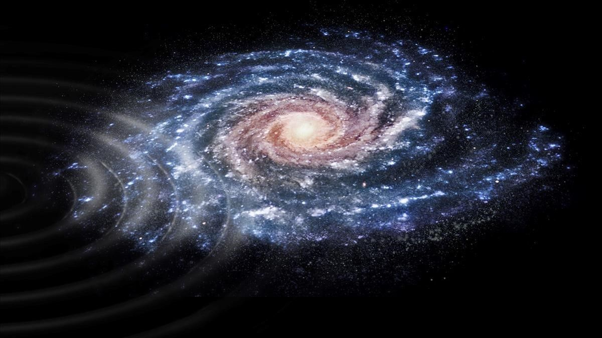 La Via Làctia va patir un sotrac fa més de 300 milions d'anys