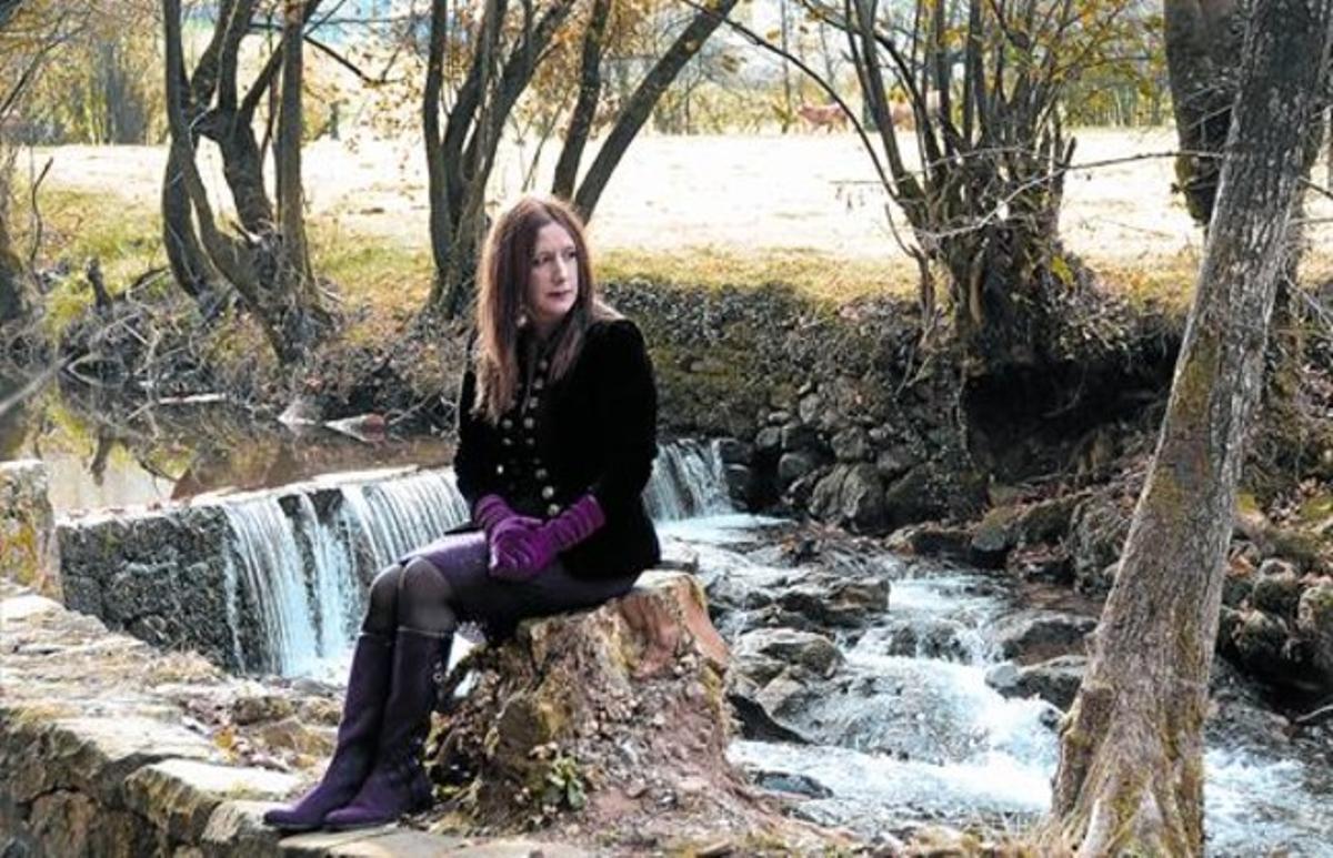 Dolores Redondo,en la localidad navarra de Elizondo.