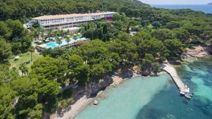 El Hotel Formentor en el municipio de Pollença, en Mallorca.