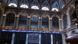Vista general de la Bolsa de Madrid el pasado mes de mayo.