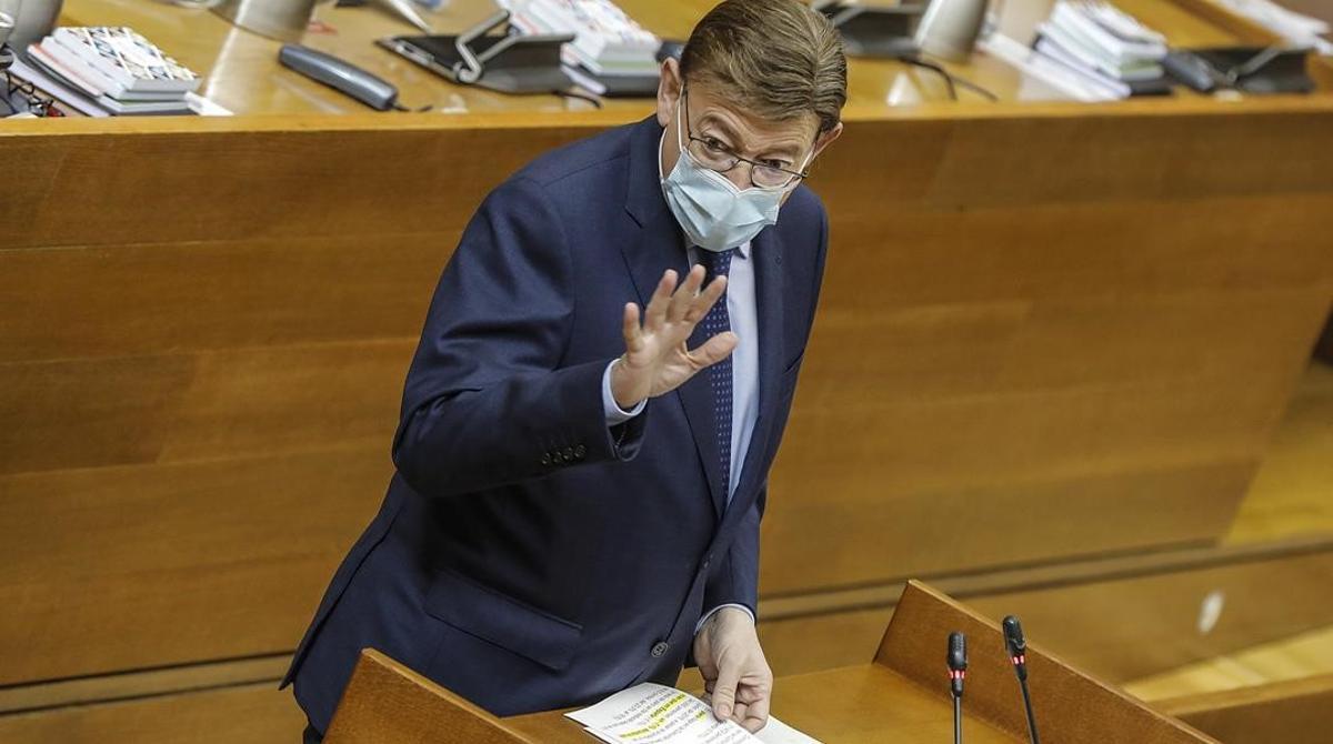 Intervención de Ximo Puig en la reunión del Comité de las Regiones de la UE.