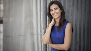 Ana Pastor, ganadora del premio Zapping a la mejor presentadora.