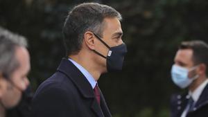 El presidente del Gobierno, Pedro Sánchez, este 2 de octubre a su llegada a la segunda jornada del Consejo Europeo, en Bruselas.