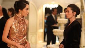 'Mujer' en Antena 3: Bahar descubre la alianza entre Cem y Kimset, en un cara a cara con la hermana de Arif