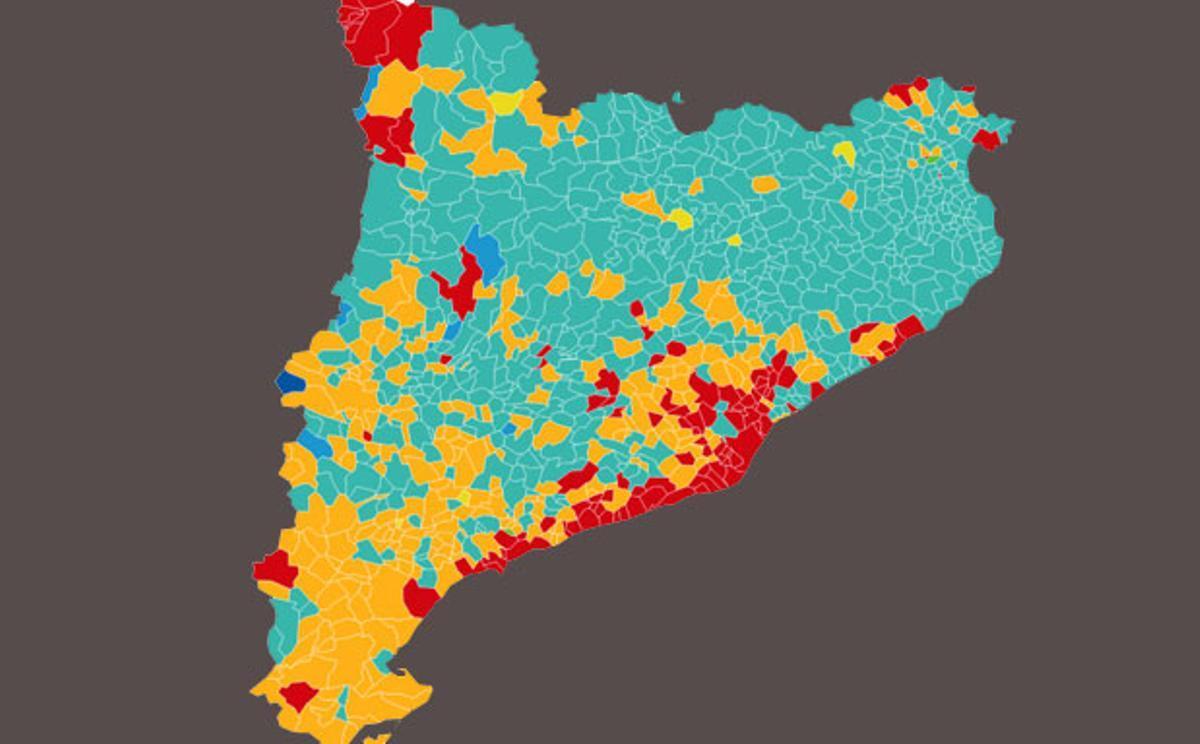 Las tres Catalunyas que dejan las elecciones del 14-F
