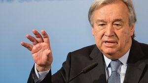 18/02/2017 El secretario general de la ONU, António Guterres