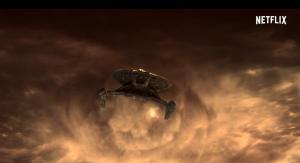 Imagen promocional de la nueva producción de Netflix sobre la serie 'Star Trek'.