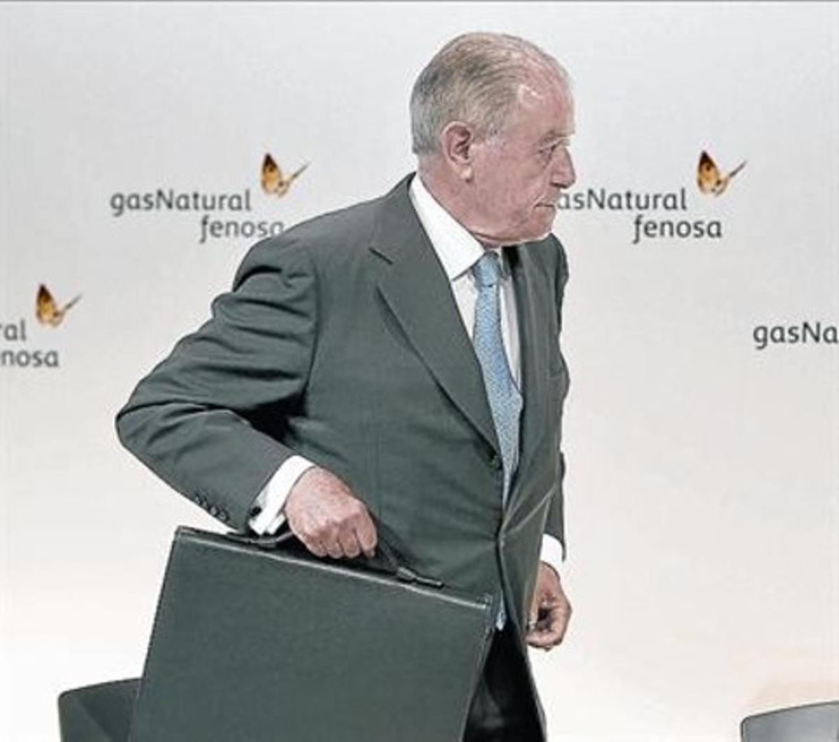 El presidente de Gas Natural Fenosa, Salvador Gabarró.
