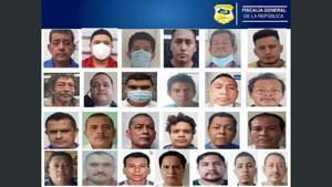 Las capturas se realizaron durante un operativo realizado en los municipios de Mejicanos, San Marcos, Soyapango, Apopa y San Salvador.