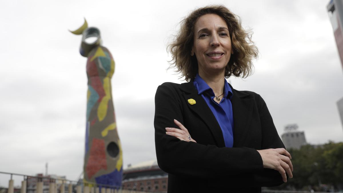 Àngels Chacón, candidata del PDeCAT a la presidencia de la Generalitat