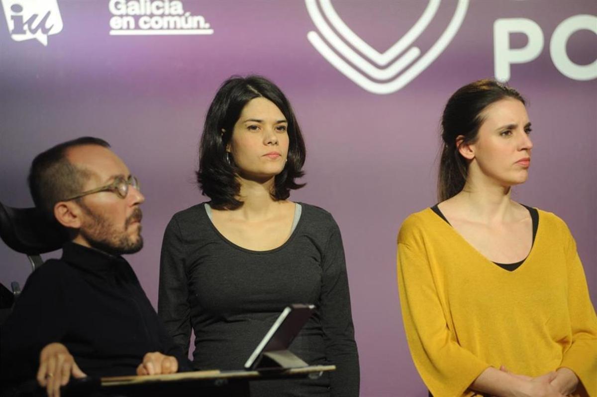 Isa Serra, portavoz de Unidas Podemos IU Madrid en Pie en la Asamblea de Madrid.