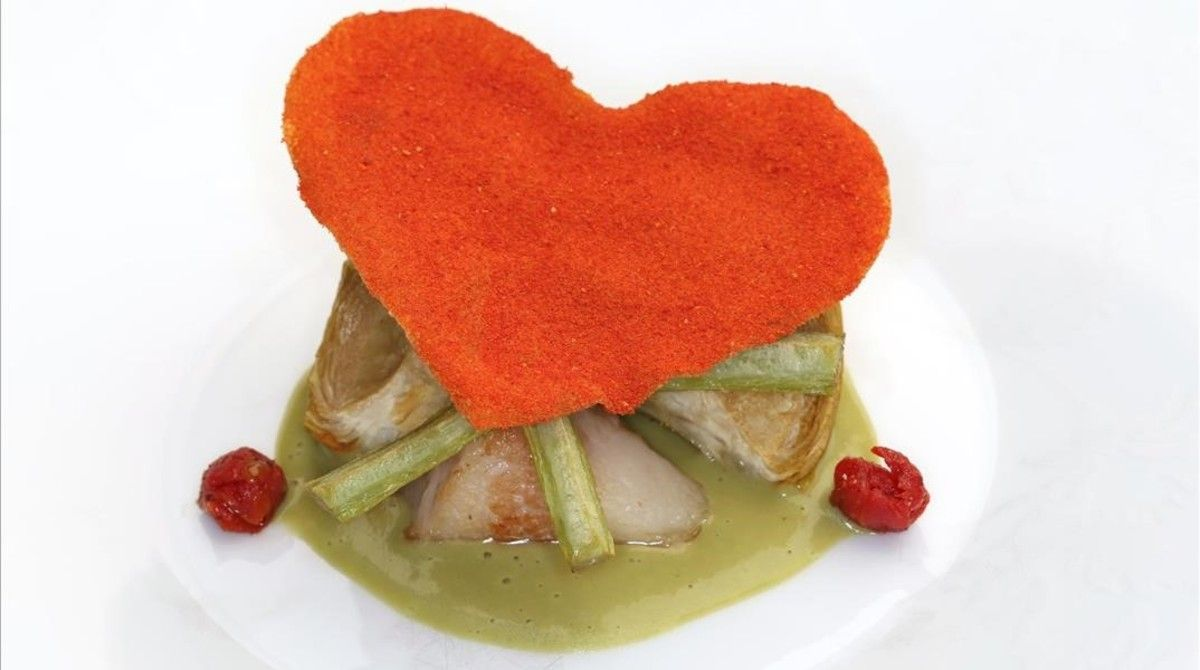 Corazón de tomate