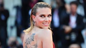 Scarlett Johansson en el festival de Venecia, el pasado 29 de agosto.