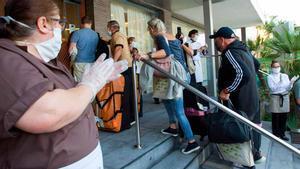 Els primers turistes postcoronavirus ja són a Mallorca
