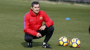 """Valverde: """"Es absurdo que el árbitro no vea el gol de Messi o no se lo diga nadie"""""""