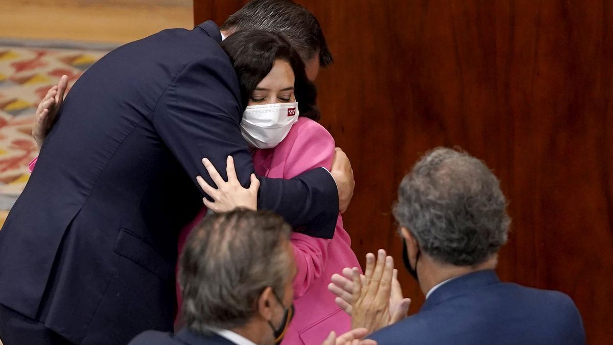 Ayuso recupera a Dancausa, Izquierdo y Marta Rivera para su nuevo Gobierno