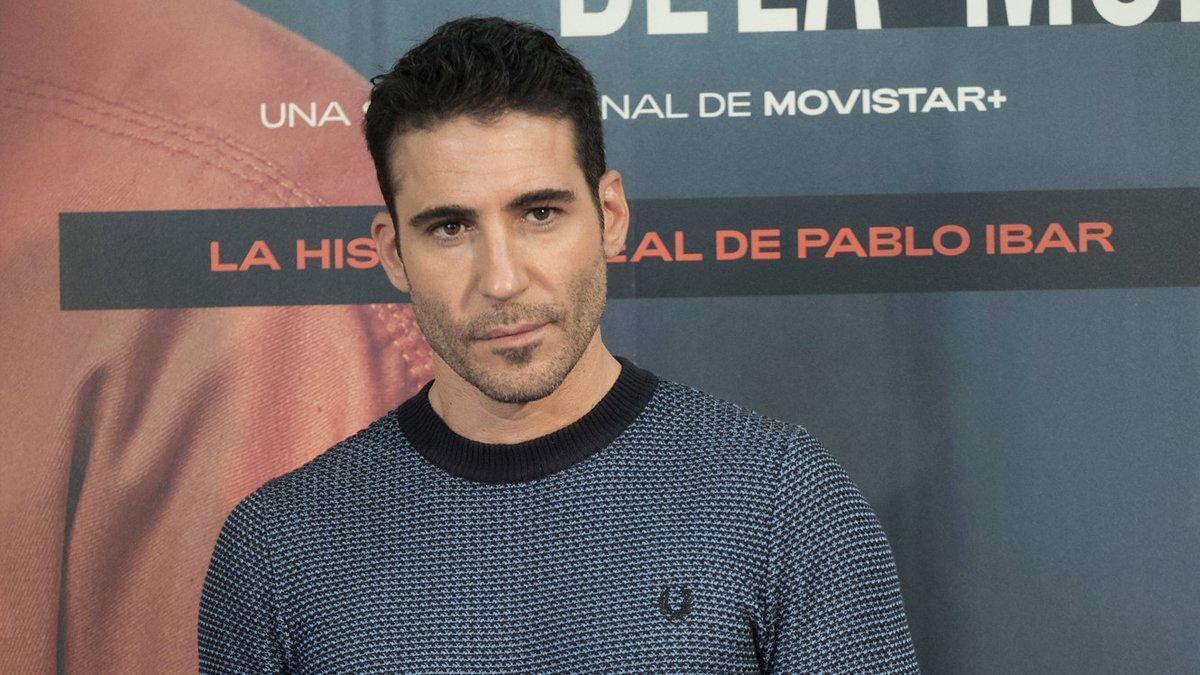 Miguel Ángel Silvestre en la presentación de 'En el corredor de la muerte'.