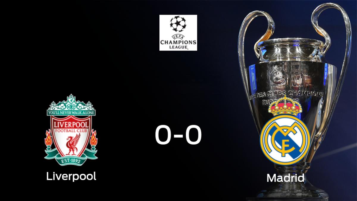 El Real Madrid pasa a la siguiente fase de la Champions League tras empatar a cero frente al Liverpool